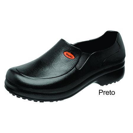 Sapato WORKS Preto
